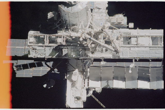 STS112-313-004 - STS-112 - Flyaround view of the ISS