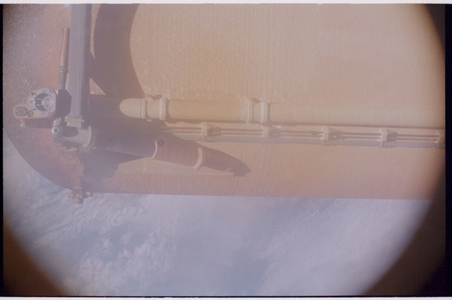 STS112-384-013 - STS-112 - External Tank separation