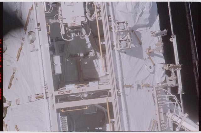 STS113-311-003 - STS-113 - S0 truss Bay 04 taken during STS-113 flyaround survey
