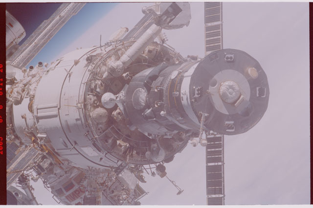 STS114-305-001 - STS-114 - Flyaround view of ISS