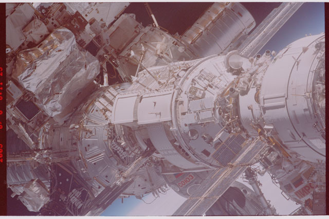 STS114-305-002 - STS-114 - Flyaround view of ISS