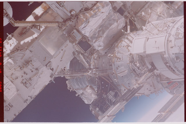 STS114-305-003 - STS-114 - Flyaround view of ISS