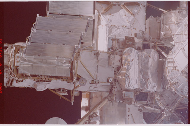 STS114-305-004 - STS-114 - Flyaround view of ISS