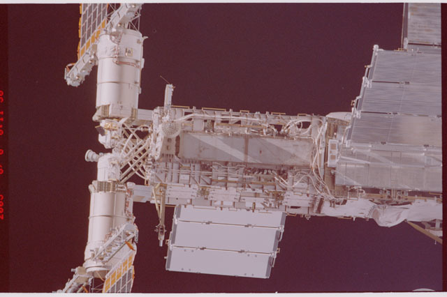 STS114-305-005 - STS-114 - Flyaround view of ISS