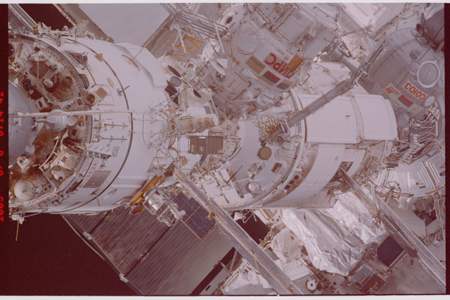 STS114-305-011 - STS-114 - Flyaround view of ISS