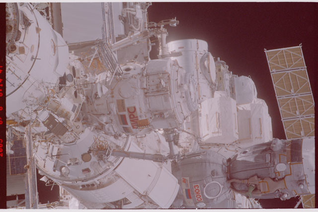 STS114-305-012 - STS-114 - Flyaround view of ISS