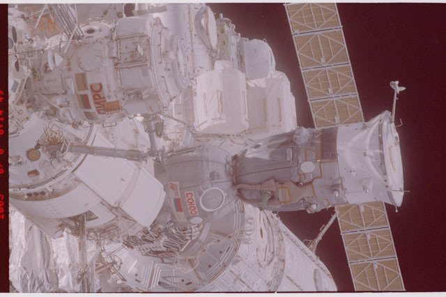 STS114-305-013 - STS-114 - Flyaround view of ISS