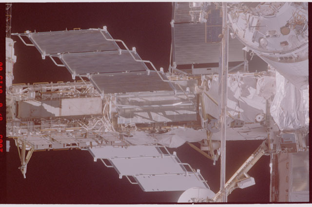 STS114-305-015 - STS-114 - Flyaround view of ISS