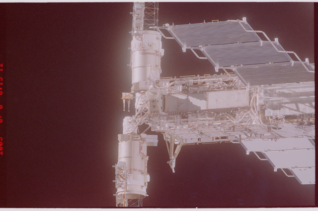 STS114-305-016 - STS-114 - Flyaround view of ISS