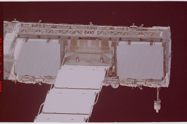 STS114-305-017 - STS-114 - Flyaround view of ISS