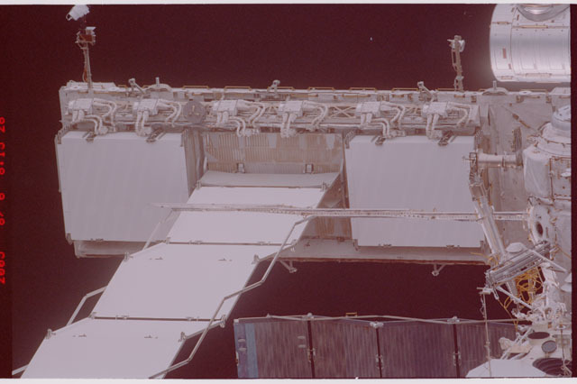 STS114-305-019 - STS-114 - Flyaround view of ISS