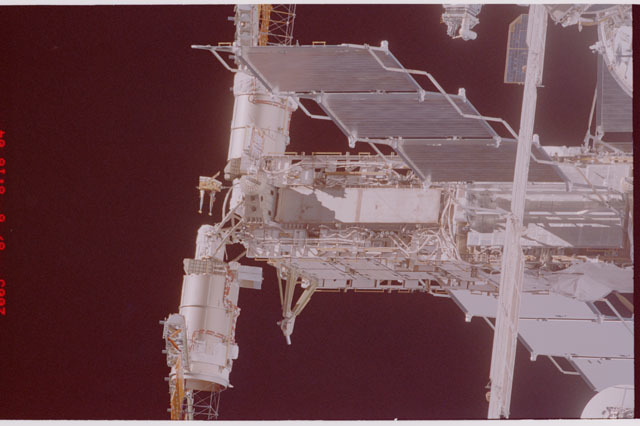 STS114-305-020 - STS-114 - Flyaround view of ISS