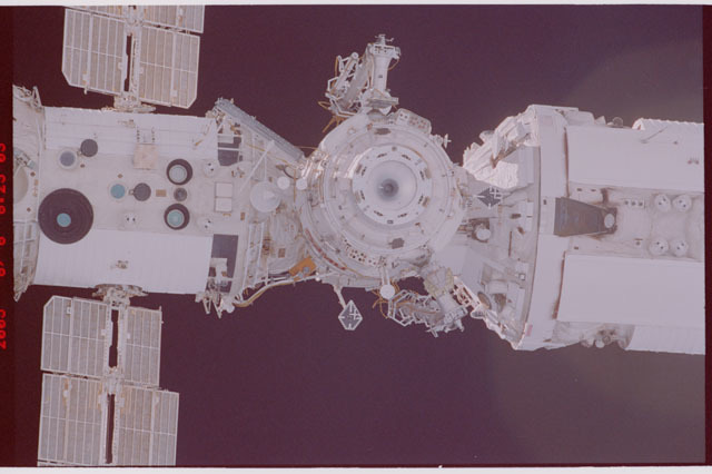STS114-305-023 - STS-114 - Flyaround view of ISS