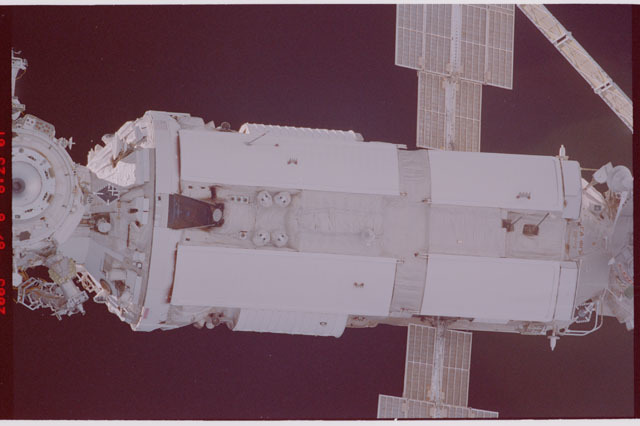 STS114-305-024 - STS-114 - Flyaround view of ISS