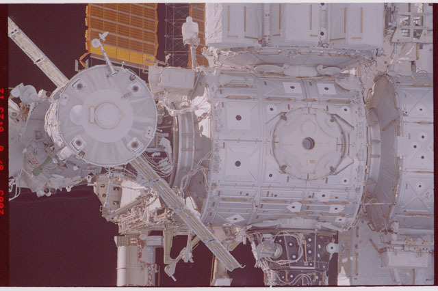 STS114-305-025 - STS-114 - Flyaround view of ISS