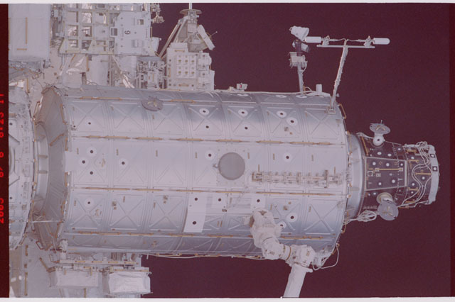 STS114-305-026 - STS-114 - Flyaround view of ISS
