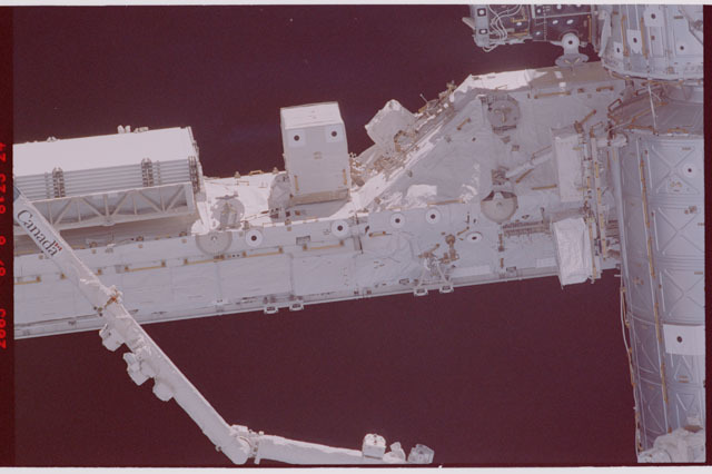 STS114-305-027 - STS-114 - Flyaround view of ISS