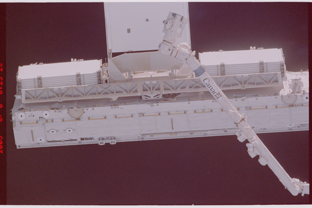 STS114-305-028 - STS-114 - Flyaround view of ISS