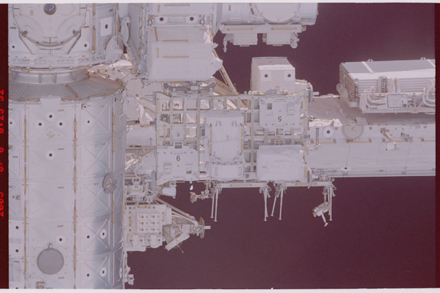STS114-305-029 - STS-114 - Flyaround view of the ISS
