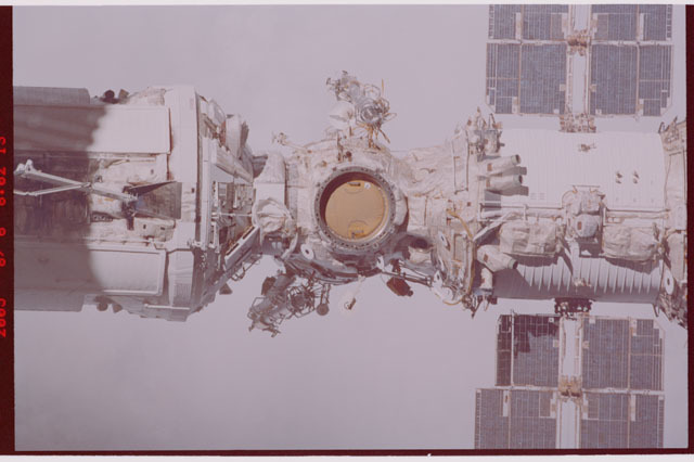 STS114-306-004 - STS-114 - Flyaround view of the ISS