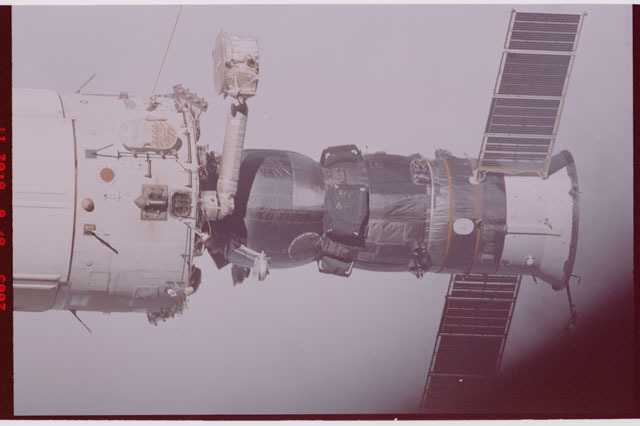 STS114-306-006 - STS-114 - Flyaround view of the ISS