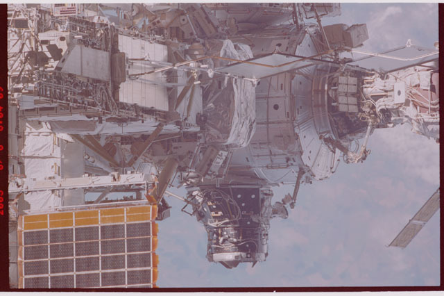 STS114-306-017 - STS-114 - Flyaround view of the ISS