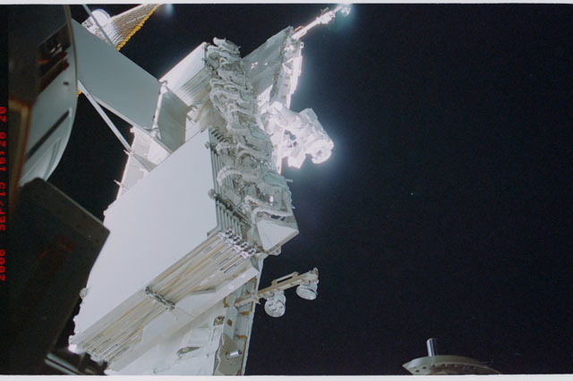 STS115-315-007 - STS-115 - HRS on the aft-side of the S1 Truss taken during Expedition 13 / STS-115 Joint Operations