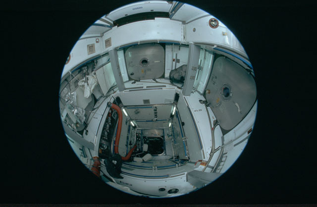 STS120-301-025 - STS-120 - Interior of Node 2 module