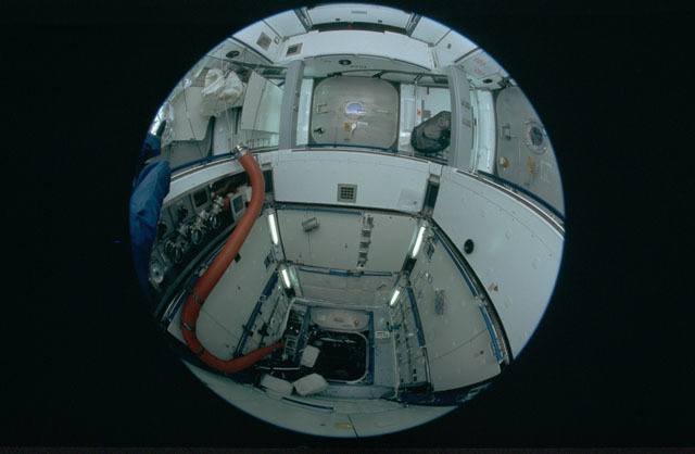 STS120-301-026 - STS-120 - Interior of Node 2 module