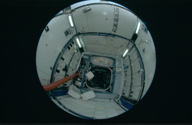 STS120-301-027 - STS-120 - Interior of Node 2 module