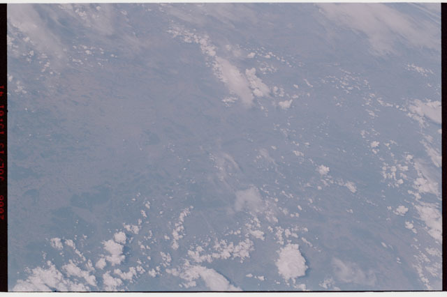 sts121-325-014 - STS-121 - Earth view taken during STS-121