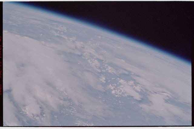 sts121-325-015 - STS-121 - Earth limb view taken during STS-121