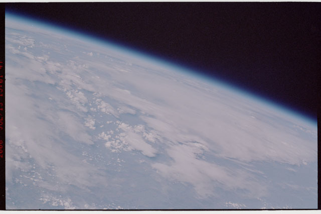 sts121-325-017 - STS-121 - Earth limb view taken during STS-121
