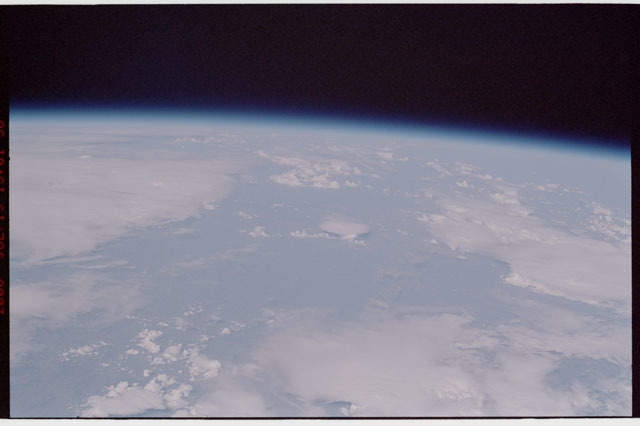 sts121-325-022 - STS-121 - Earth limb view taken during STS-121