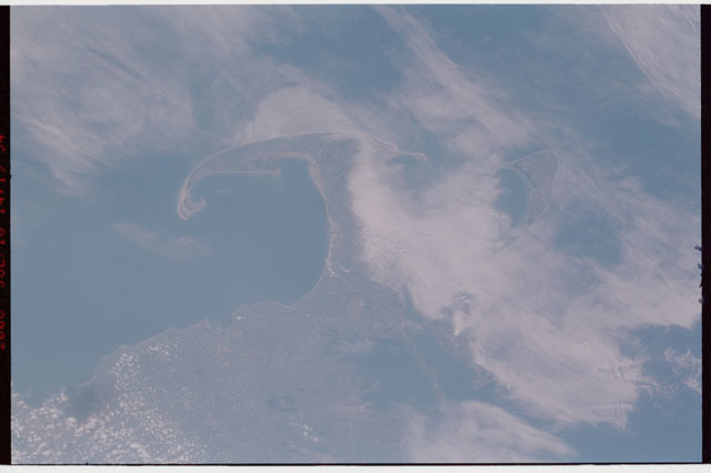 sts121-326-012 - STS-121 - Earth view of Cape Cod taken during STS-121