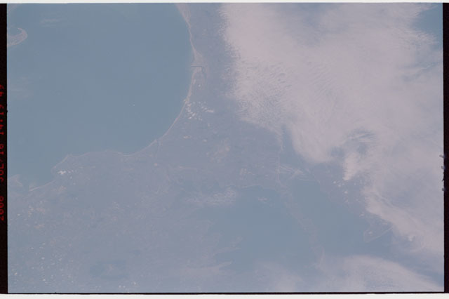 sts121-326-014 - STS-121 - Earth view of Massachussetts coastline taken during STS-121