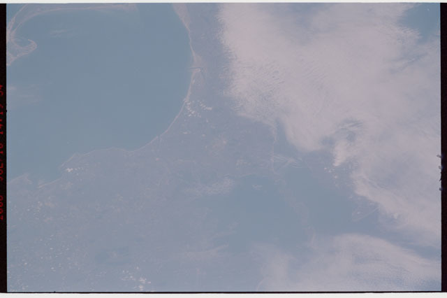 sts121-326-015 - STS-121 - Earth view of Massachussetts coastline taken during STS-121