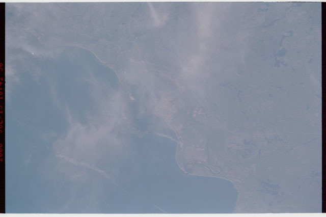 sts121-327-016 - STS-121 - Earth view over Sept-Iles, Canada taken during STS-121