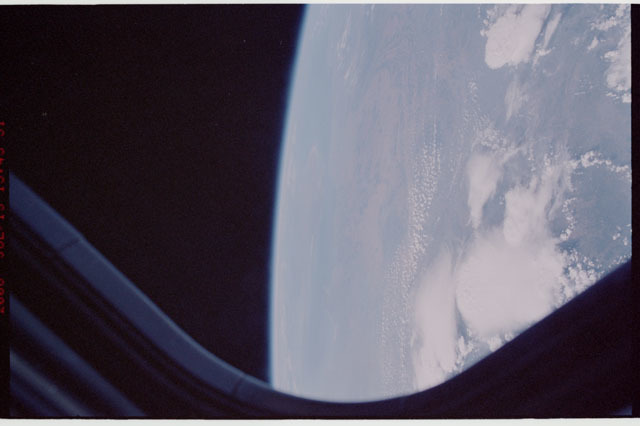 sts121-334-014 - STS-121 - Earth limb view taken during STS-121