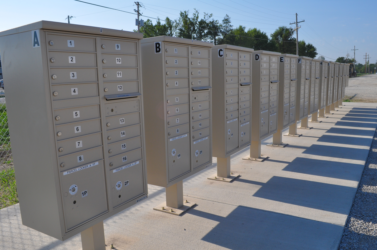 Tornado - Joplin, Mo  , August 24, 2011 -- US Post Office mailboxes