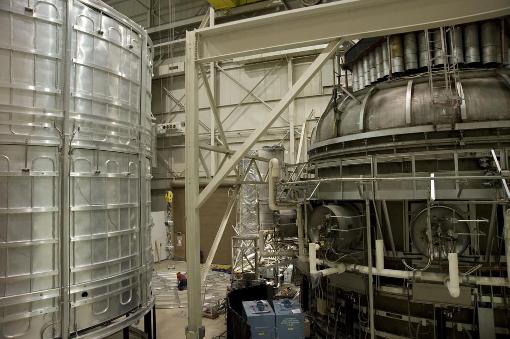 JAMES WEBB SPACE TELESCOPE (JWST) HELIUM SHROUD AT GODDARD SPACE FLIGHT CENTER
