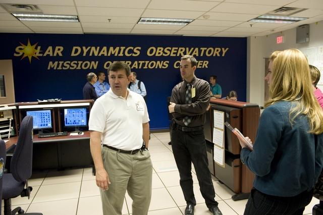 NASA SOLAR DYNAMIC OBSERVATORY (SDO) MEDIA DAY AT GODDARD SPACE FLIGHT CENTER
