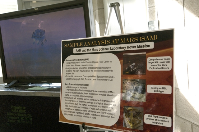 SAMPLE ANALYSIS AT MARS(SAM) MEDIA DAY
