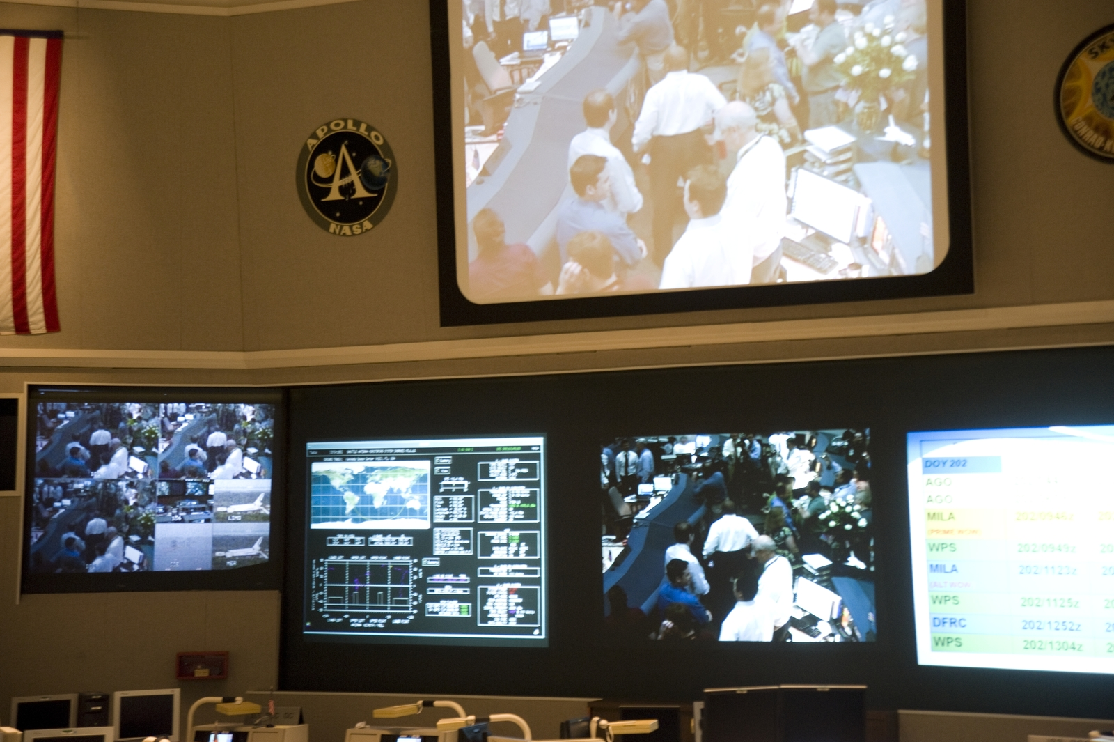 SPACE SHUTTLE STS-135 LANDING EVENTS AT GODDARD SPACE FLIGHT CENTER