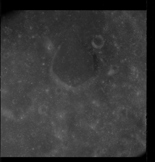 AS08-12-2172 - Apollo 8 - Apollo 8 Mission image, Moon, South Mare Smythii