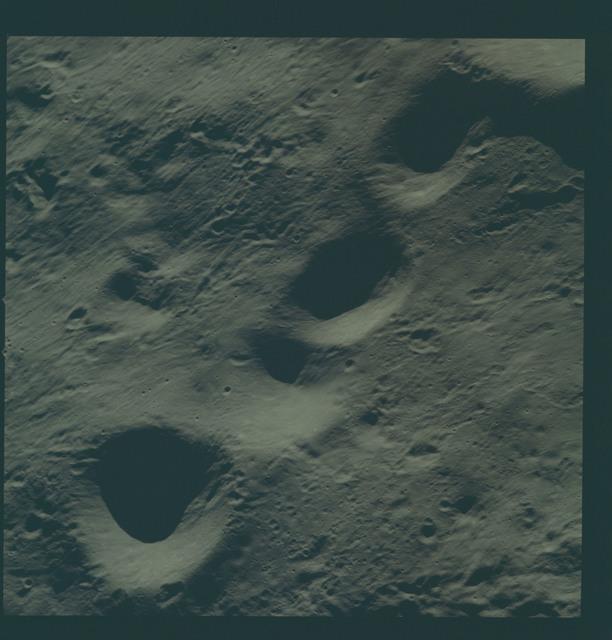 AS08-14-2415 - Apollo 8 - Apollo 8 Mission image, Moon, farside, dark, T/O 12