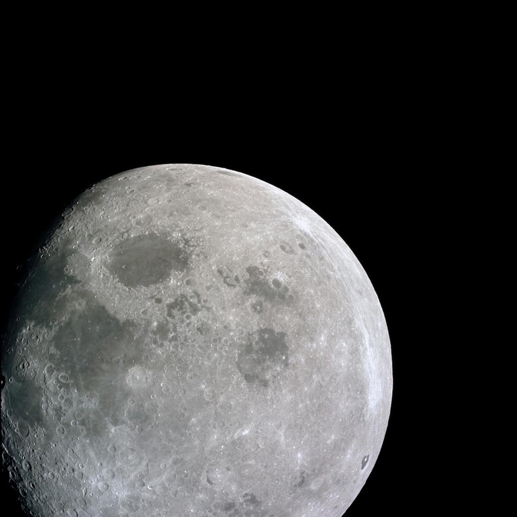 AS08-14-2505 - Apollo 8 - Apollo 8 Mission image, Moon