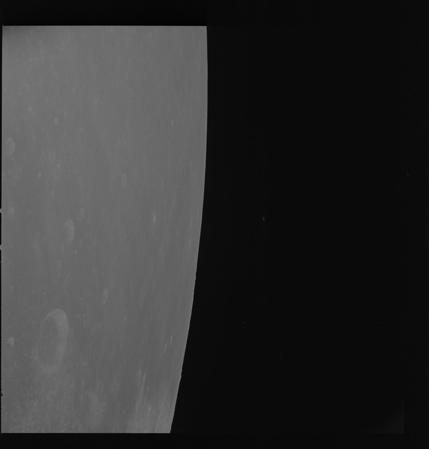 AS08-17-2801 - Apollo 8 - Apollo 8 Mission image, Moon limb, Webb