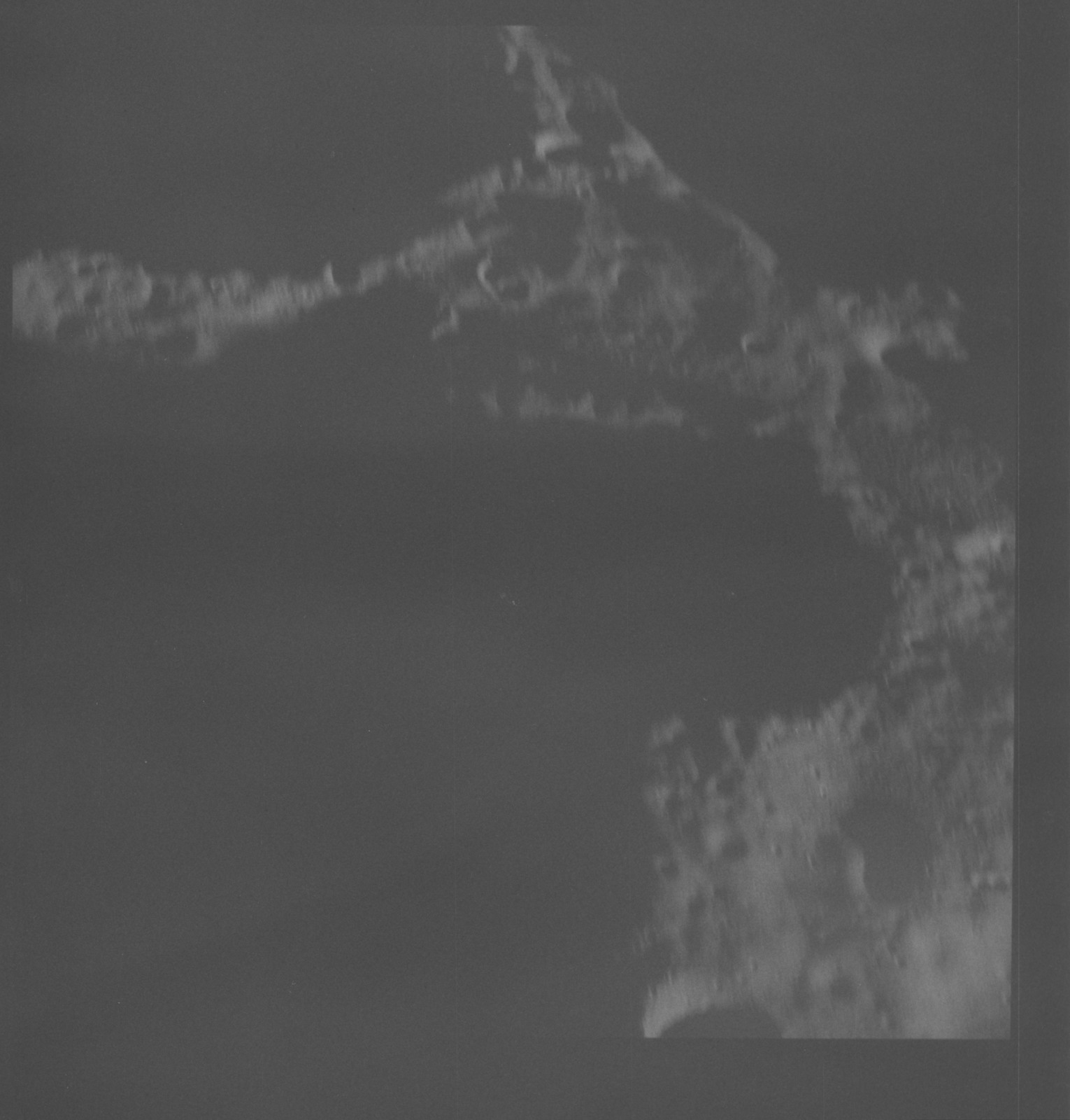 AS08-18-2829 - Apollo 8 - Apollo 8 Mission image, Moon, Farside, Terminator