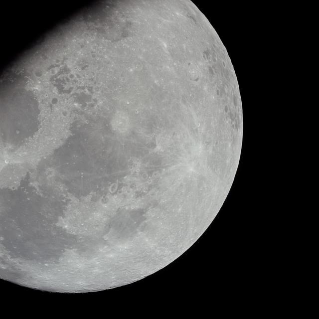 AS10-27-3942 - Apollo 10 - Apollo 10 Mission image - Craters Mare Australe - Smyth's Sea